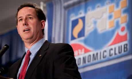 Rick Santorum in Michigan