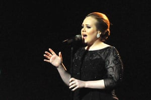 The 10 best: Adele performing at The Brit Awards in 2011