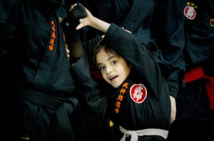 iran female ninjas: Never too young to start.