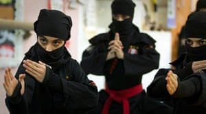 iran female ninjas: You lookin' at me?