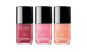 The three new Chanel nail colours for spring