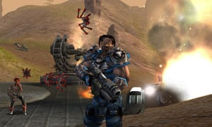 Screenshot from videogame Unreal Tournament