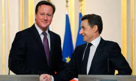 UK-France summit - Paris