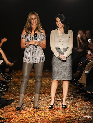New York fashion week: Denise Albert and Melissa Gerstein