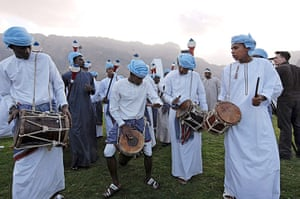 Week in Music: Omani men perform traditional music