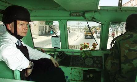 William Hague in Somalia
