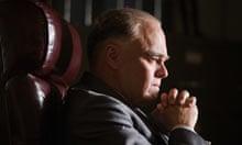 Leonardo DiCaprio as J Edgar Hoover in Clint Eastwood's J Edgar
