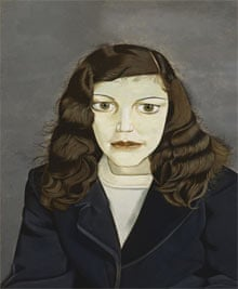 Lucien Freud, Girl in a Dark Jacket, 1947