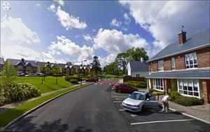 9 eyes google streetview: Ballintyre Woods, Stillorgan, Co. Dun Laoghaire-Rathdown, Ireland