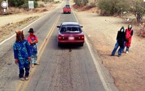 9 eyes google streetview: Nacozari De Garcia- Montezuma, Sonora, Mexico