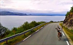 9 eyes google streetview: Rv888, Norway, 2010