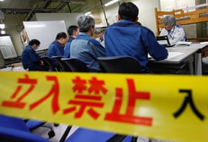 inside Fukushima: Officials from Tokyo Electric Power Co