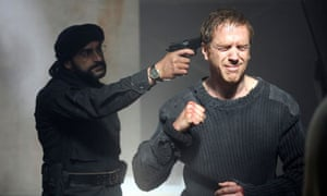 Damian Lewis in the US television hit Homeland.