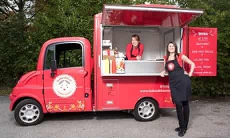 The Babushka street food wagon