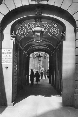 Dickens places: An Old Entrance to Lincoln's Inn Fields