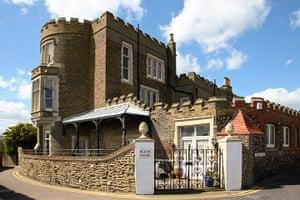 Dickens places: Charles Dickens, Bleak House, Broadstairs, Kent.