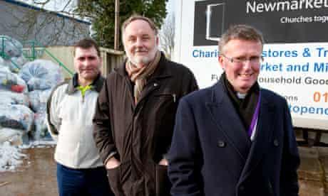 Newmarket Open Door recycing centre