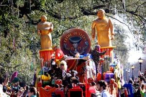 Mardi Gras: The Mardi Gras Krewe of Tucks parade