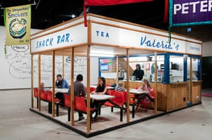 Jeremy Deller: Valerie's Snack Bar (2009)