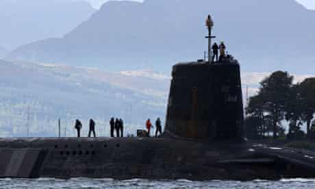 Gordon Brown Announces Plans To Cut Trident Submarines