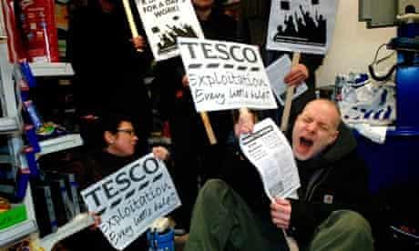 Tesco protest