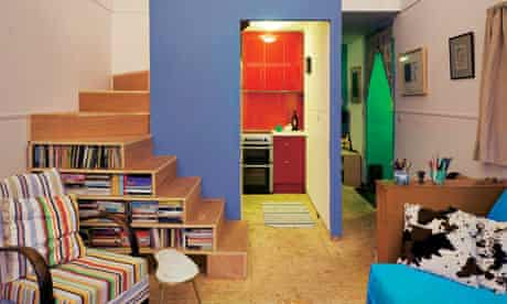 Irish self-build house: kitchen pod
