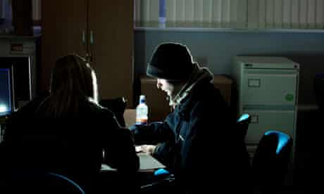 Unemployed man on Work Programme session in Hull