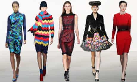 London fashion week catwalk pictures