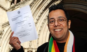 Simon Singh after winning his libel appeal