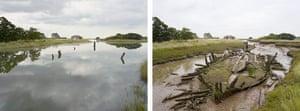 Sea change: tide pictures: Beaumont Quay, Essex