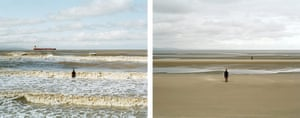 Sea change: tide pictures: Crosby, Liverpool