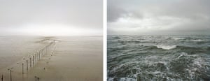Sea change: tide pictures: Solway Firth