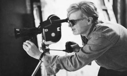 Andy Warhol Lines Up A Shot