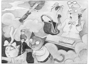 Tomi Ungerer: Illustration by Tomi Ungerer from No Kiss for Mother