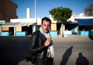 Remi Ochlik: French photojournalist Remi Ochlik who was killed in Homs, Syria