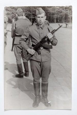 KGB: Karpichkov at the KGB's training centre in Minsk.