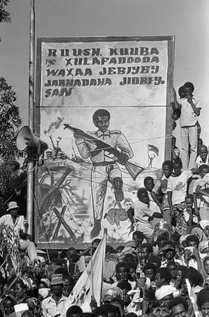 Somalia: a history of events from 1950 to the present - in
