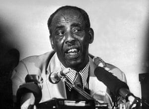 Somalia timeline: Mohamed Siad Barre