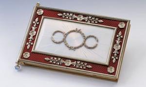 Queen Victoria's Fabergé notebook