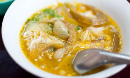 Mohinga, Burmese fish noodle soup