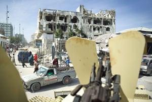 Somalai timeline: streets of war-ravaged Mogadishu
