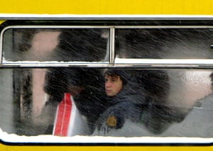Weekend Readers Pictures: a marshruta bus in kiev by Jonathan Campion