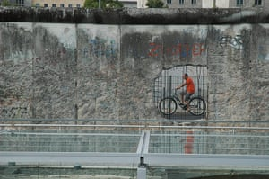 Weekend Readers Pictures: Cyclist in Berlin by Donald Pennington