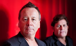 Simple Minds: Jim Kerr and Charlie Burchill