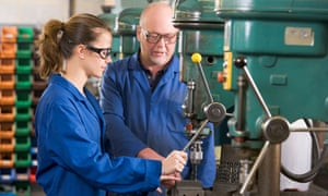 The government's youth contract, including 20,000 extra apprenticeships, has yet to be implemented
