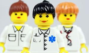 team of lego nurses