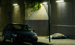 Figures show 2,181 people slept rough on any one night in England in autumn last year