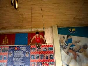 from the agencies: Kieran Doherty in Ulan Bator - Mongolian wrestler Mandakhnaran Ganzorig