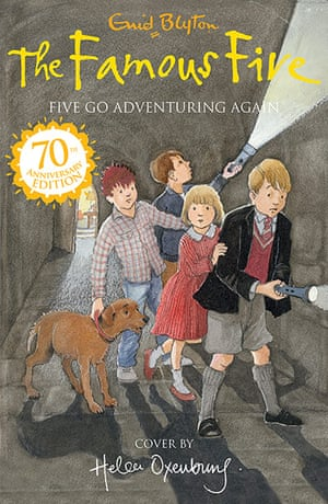 Famous Five: Five Go Adventuring Again
