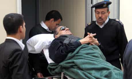 Trial of former Egyptian president Hosni Mubarak trial resumes